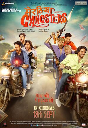Meeruthiya Gangsters 2015 Hindi pDVDRip 700mb