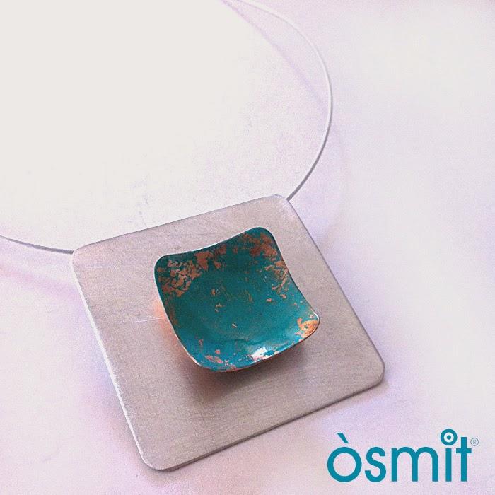 collar aluminio osmit joyas artesanales