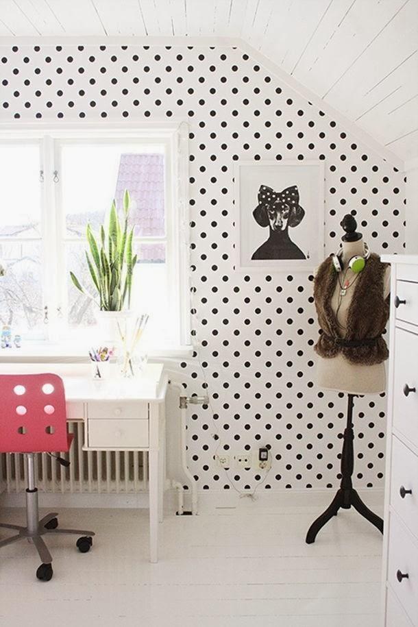 Grochy kropki kropeczki my lovely room - Fotos van de slaapkamers ...