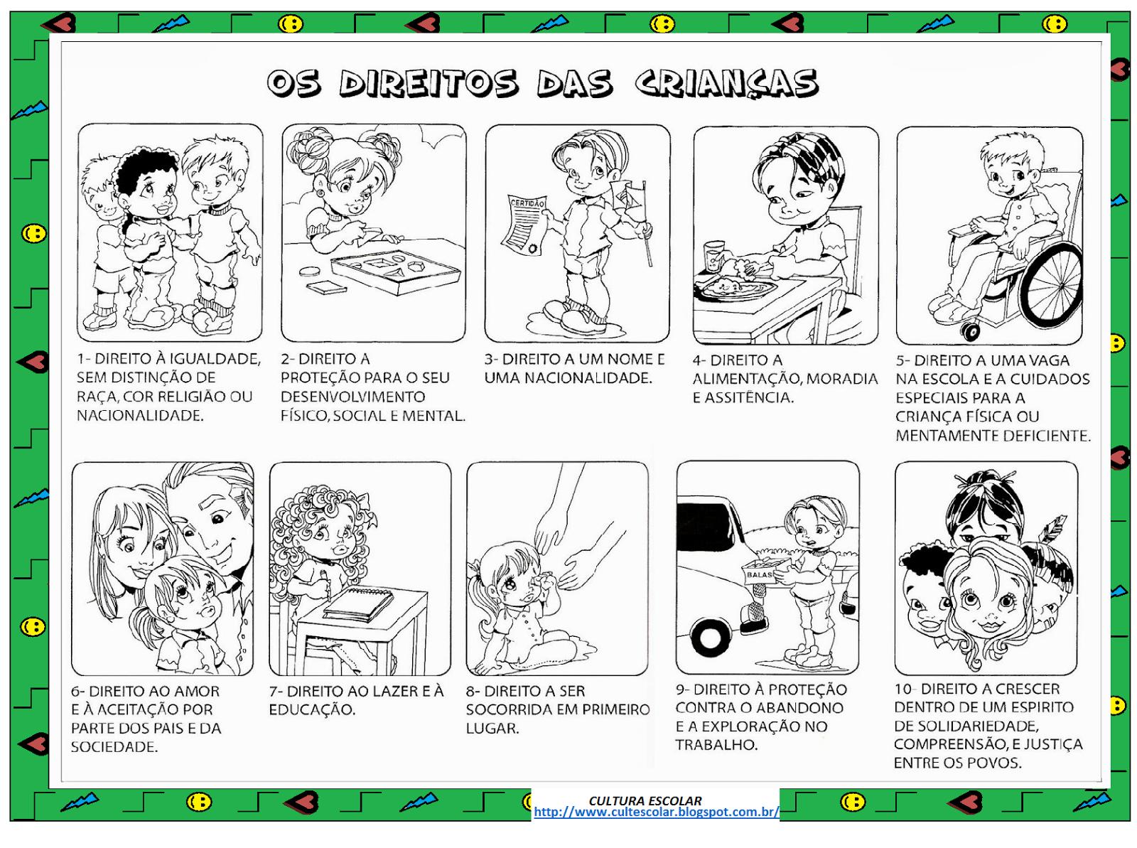 Super Cultura Escolar: DIREITOS DA CRIANÇA GE54