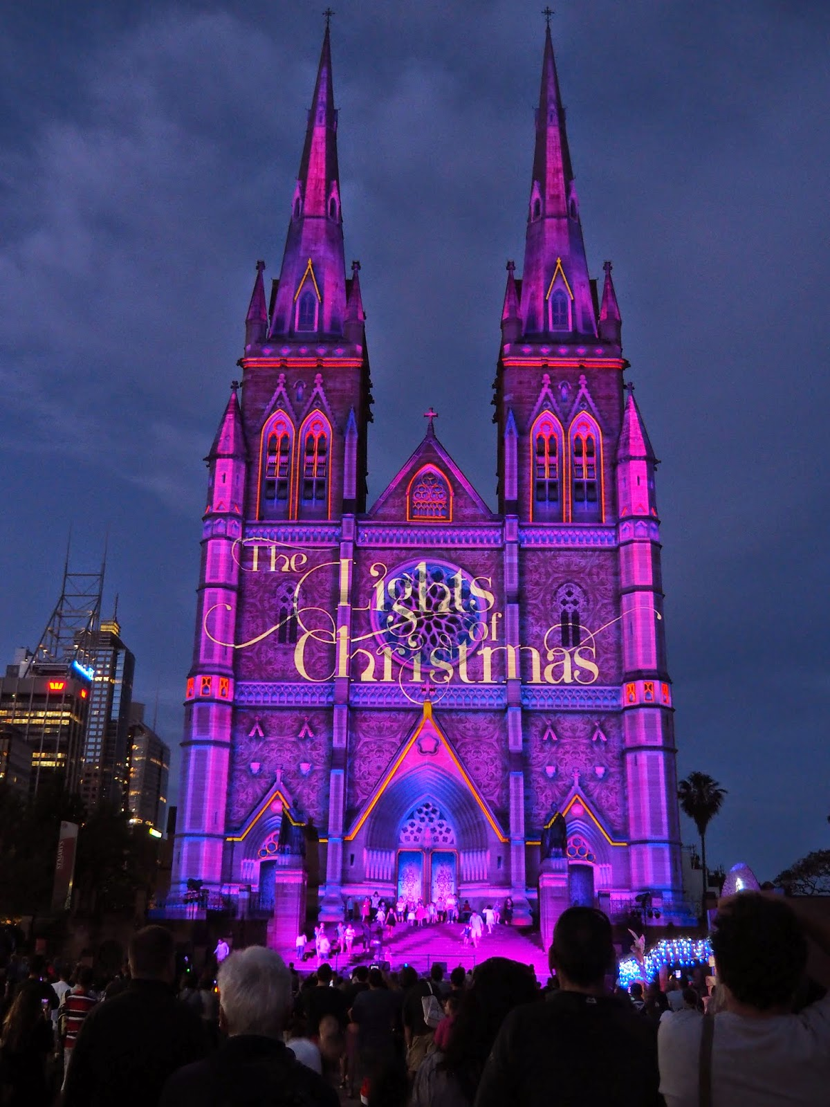 Lights of Christmas St Mary's Cathedral