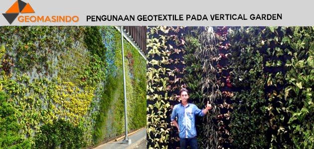 Pengunaan Geotextile Pada Vertical Garden