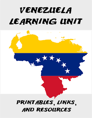 The Educational Summer Vacation: Studying Venezuela -- If you're looking for ideas for a homeschool unit on Venezuela or just some educational activities on Venezuela with your kids, you've come to the right place for printables, links, activities, and book/DVD recommendations.  {posted @ Unremarkable Files}