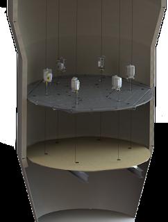 Suspended Platform for refractory installation
