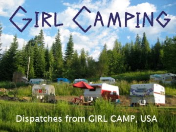 Girl Camping
