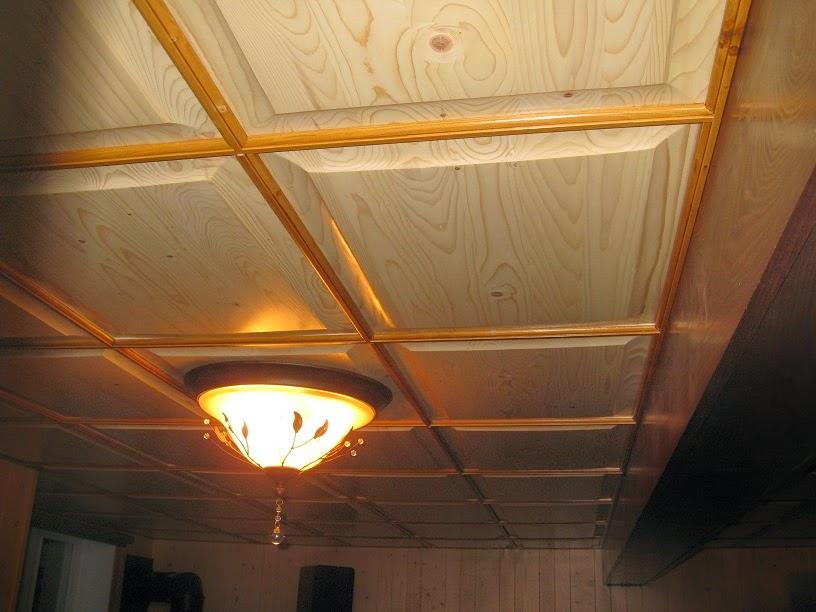 Menuiserie St M Thode Plafond Supendu En Bois