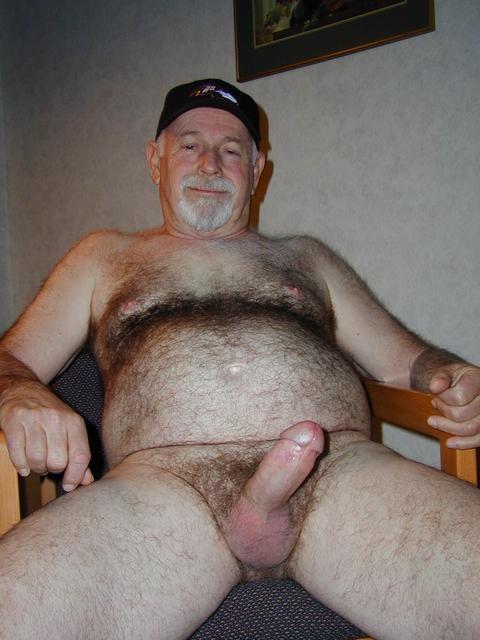 Stocky Husky Naked Men