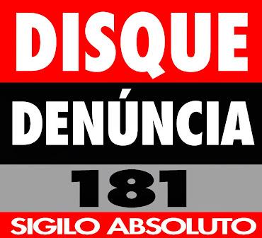 DISQUE DENÚNCIA 181