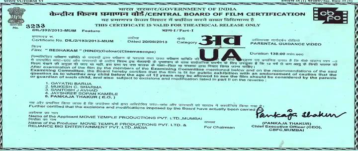 besharam movie download 480p