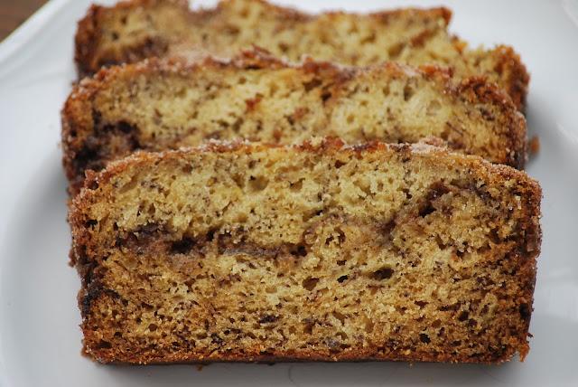 My story in recipes: Cinnamon Swirl Banana Bread