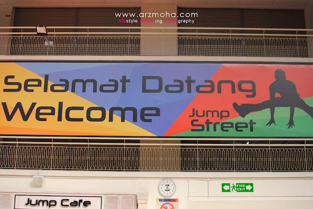 tempat menarik di penang, jumpstreet penang, jumpstreet trampoline park penang, Dpiazza Mall, tempat melompat,