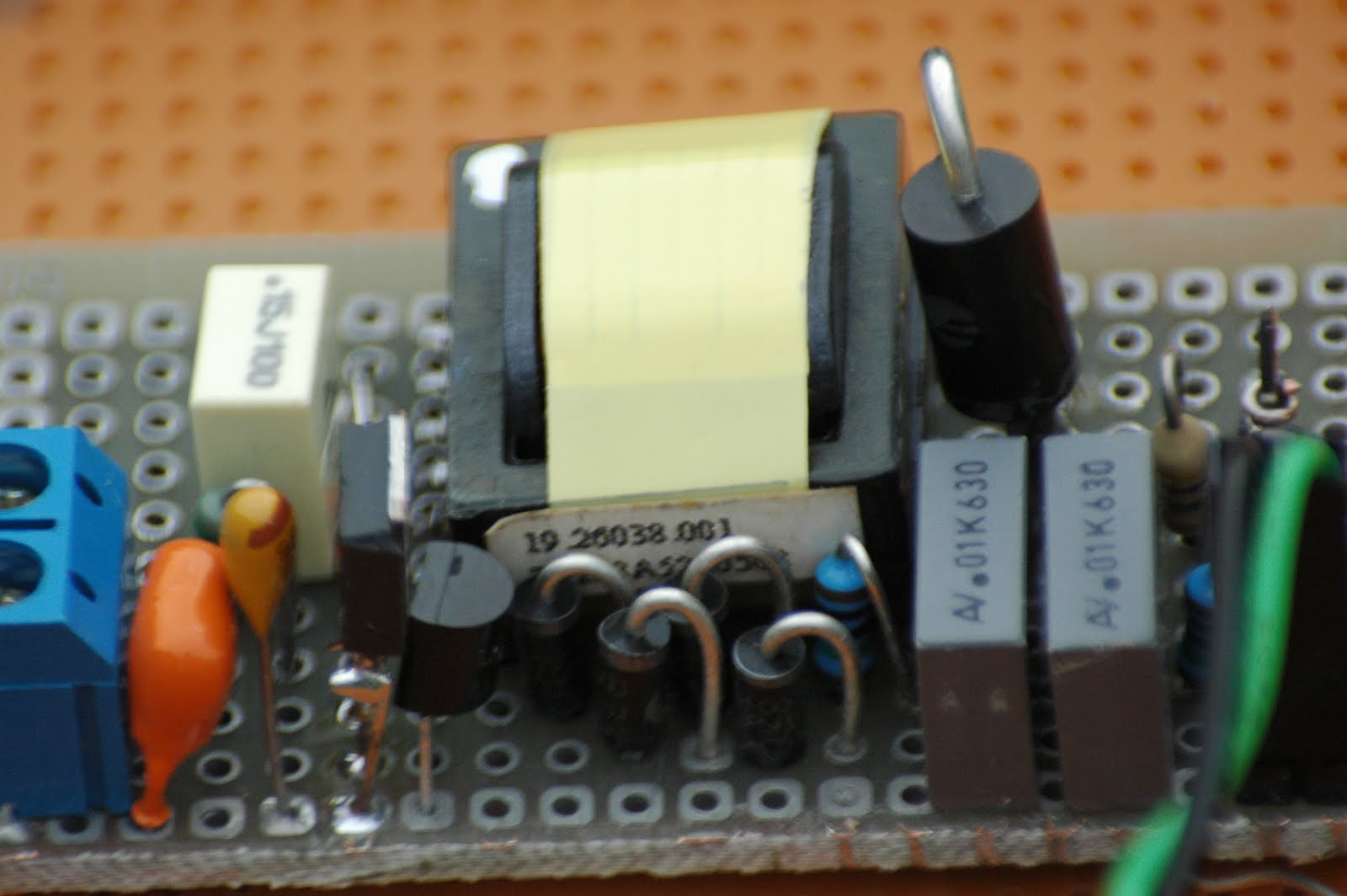 Radiation In Goes Zeeland Nl Geiger Counter Very Efficient Hv Schematic Here Are Some Pictures Of The Completed Inverter Unit