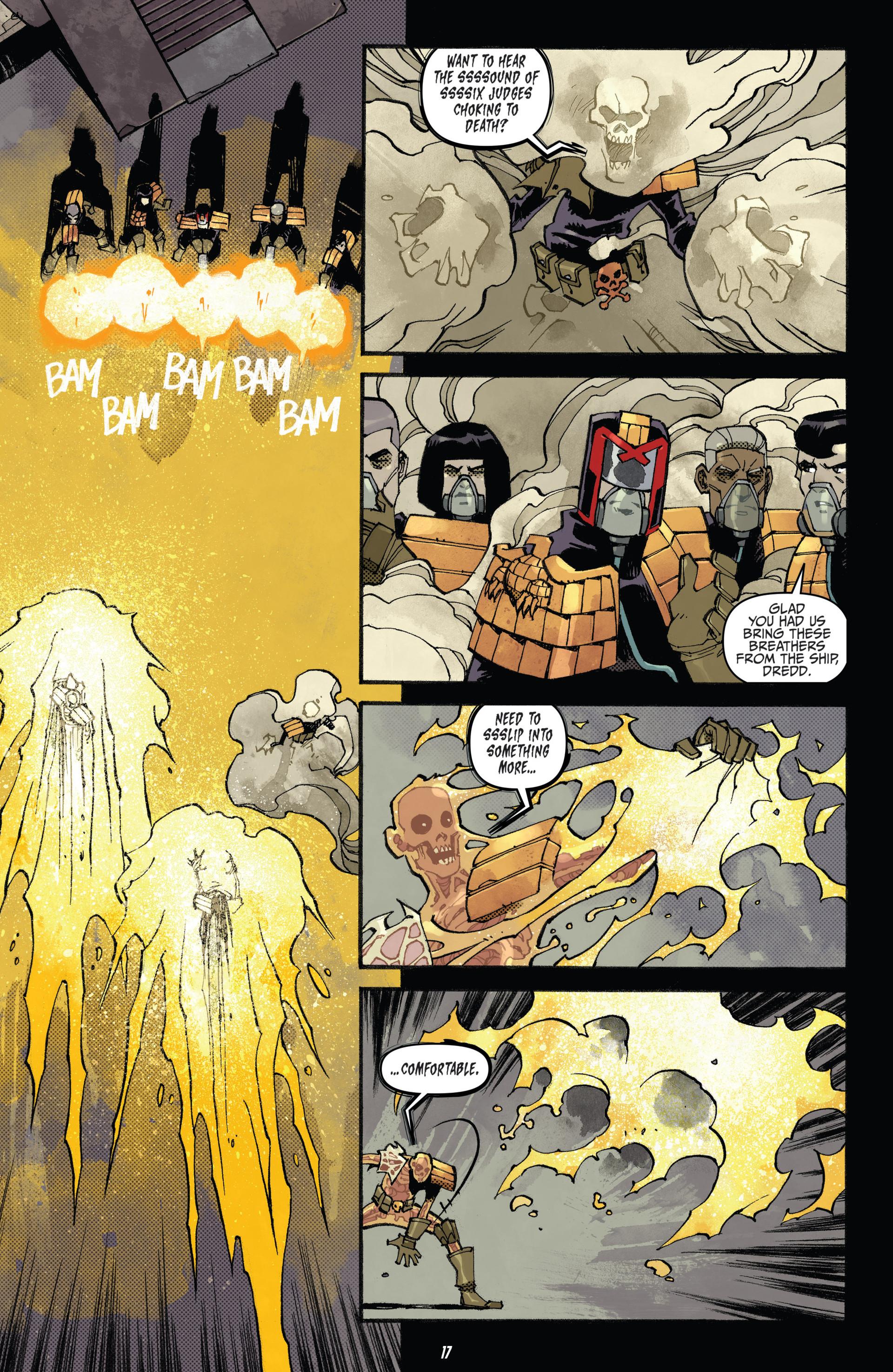 Read online Judge Dredd (2012) comic -  Issue #20 - 18