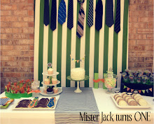 Jackson's First Birthday Party