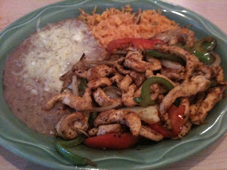 Costa Azul Chicken Fajitas
