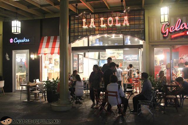 La Lola Churreria in Serendra, Bonifacio Global City