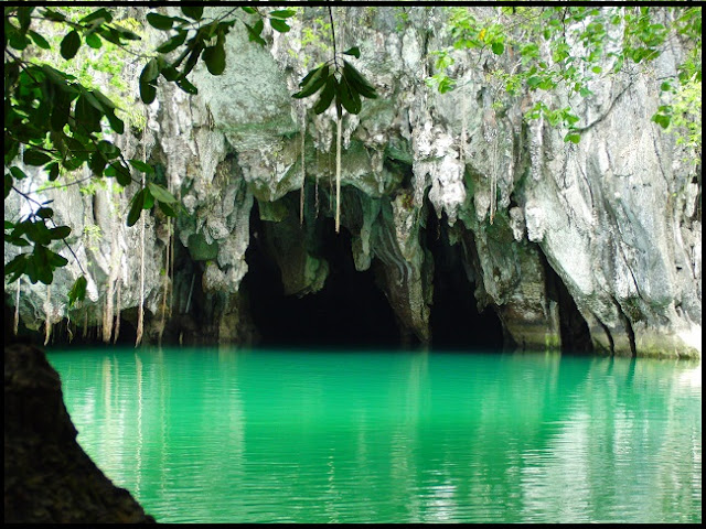 Underground River with its Scenic Inside
