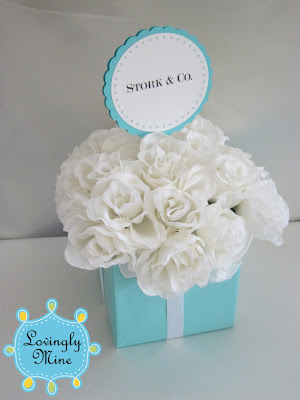 with love bridgette tiffany themed baby shower