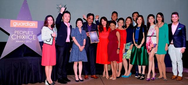 Guardian People's Choice Award 2015 Winners