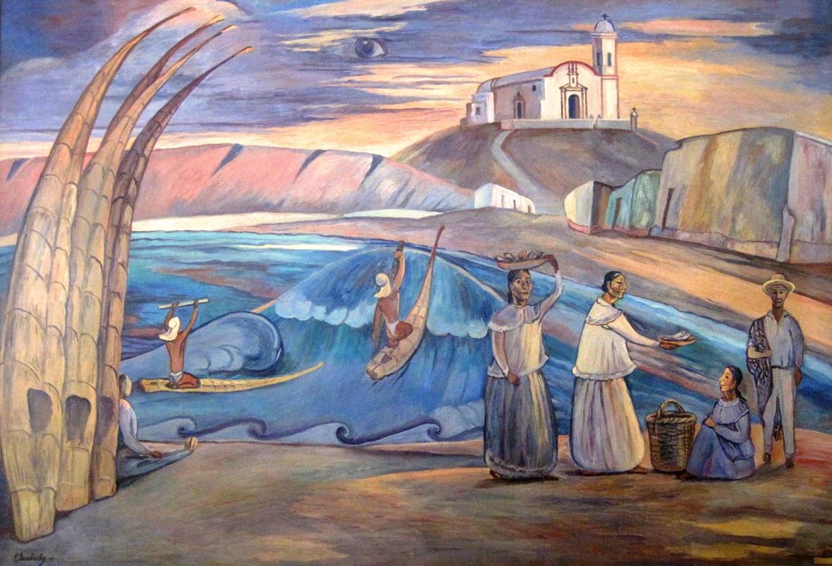Rimactampu pedro azabache el patriarca de los pintores - Pintores en caceres ...