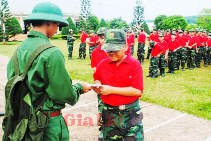 """Gia Lai: Chương trình """"Học kỳ trong quân đội"""" - Những hiệu ứng tốt đẹp"""