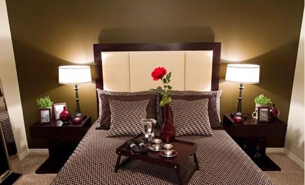 Desain kamar tidur romantis 3