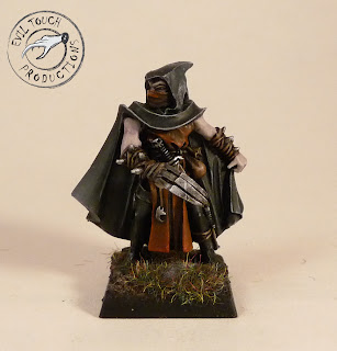Assassin on Evil Touch Productions  Warhammer  Dark Elves Corsairs   Assassin