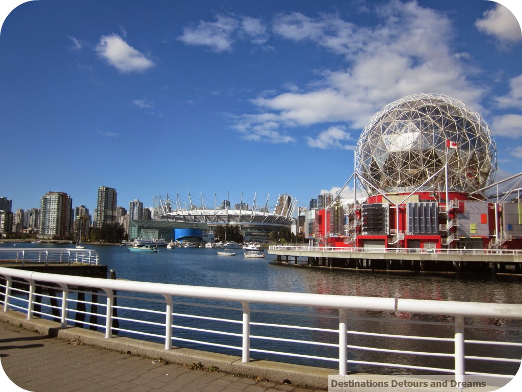 View across False Creek