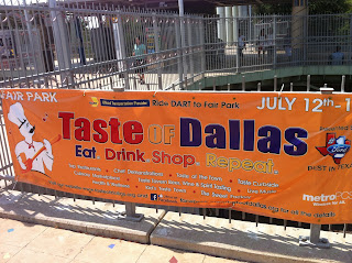Taste of Dallas Fair Park FairPark Food Festival BBQ Barbecue Barbeque Bar-B-Q Bar-B-Que