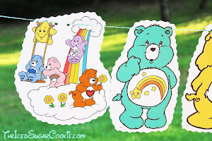 Care Bears Birthday Banner Idea