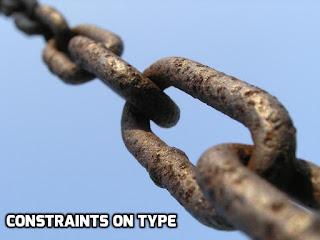Constraints on Type Parameters in Generics