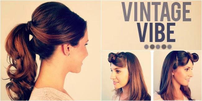 Gaya Rambut Vintage