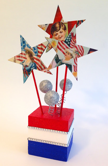 independence day tabletop decoration lisa fulmer