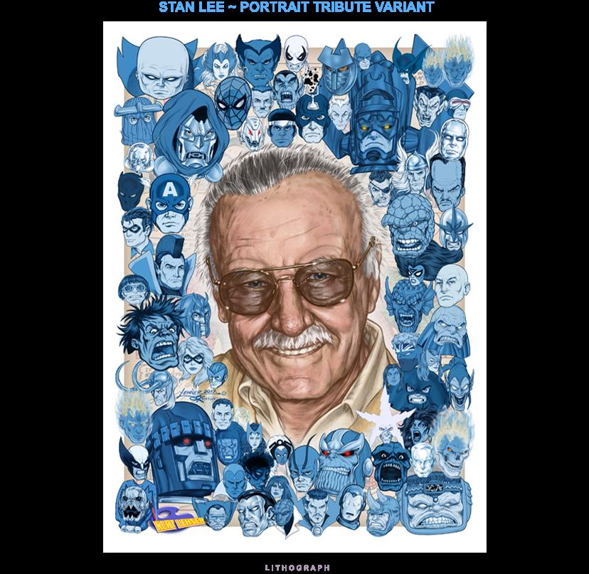 Stan Lee - Portrait Variant