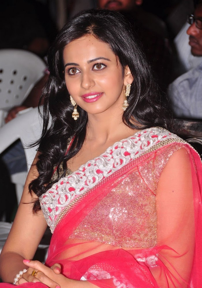 SEO TAGS : Rakul Preet Singh :Rakul Preet Singh hot big cleavage pink saree bra pant black underwear visible pics hot xxx hd pics