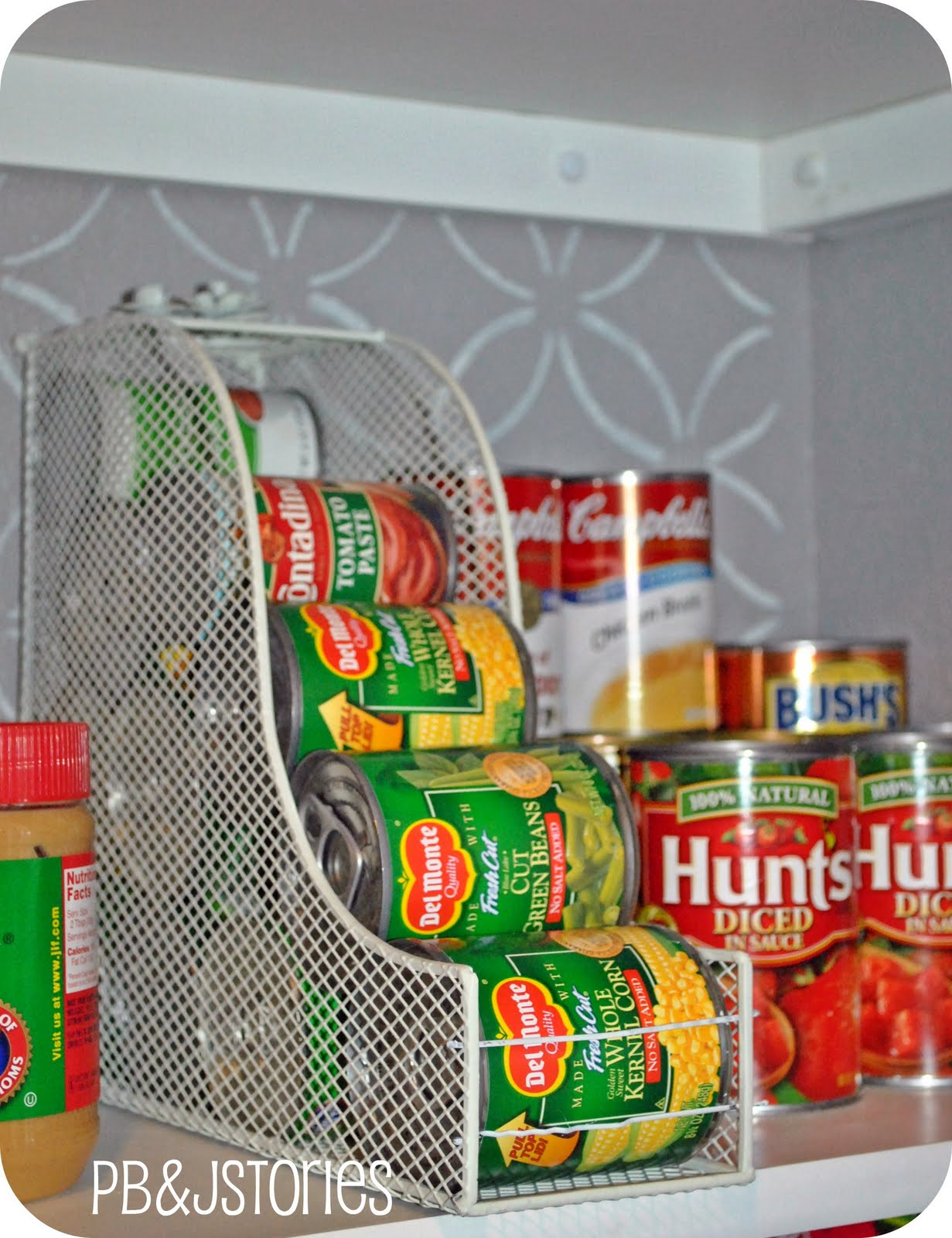 Organise Your Pantry Magazine Holder for Cans