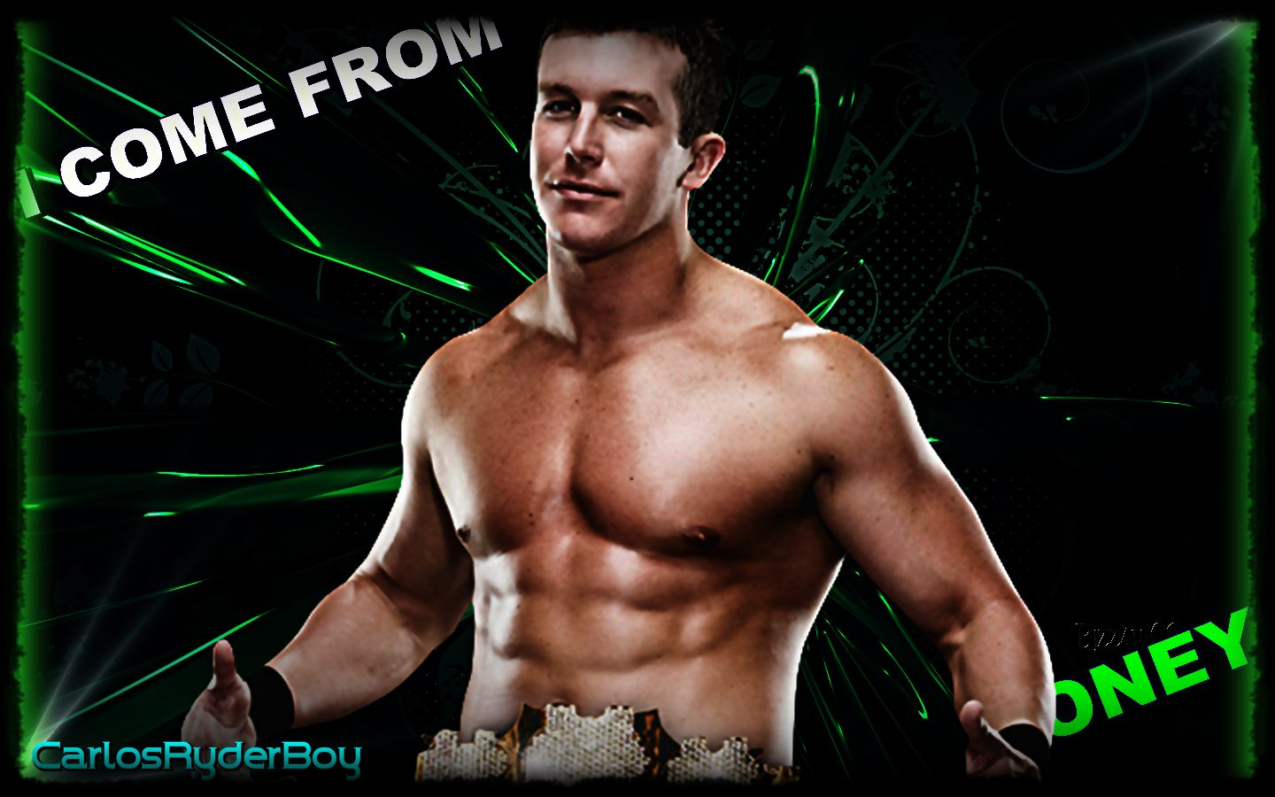 Ted DiBiase Jr. Wallpapers Ted DiBiase jr I Come From Money Wallpaper