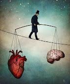 A ver si dejo de pensar con el corazón y siento más con la cabeza