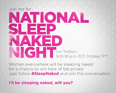 National Sleep Naked Night