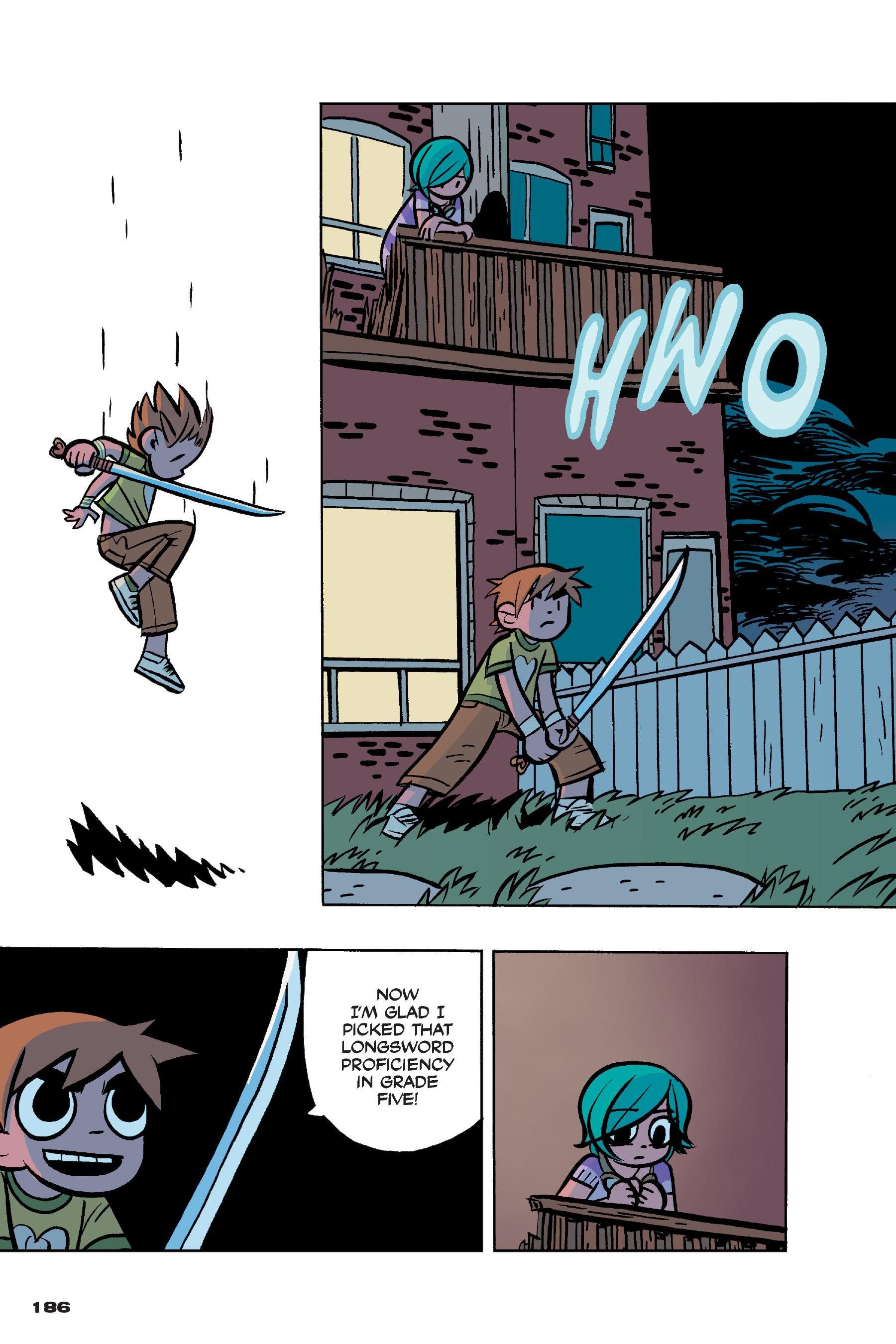 Read online Scott Pilgrim comic -  Issue #4 - 183
