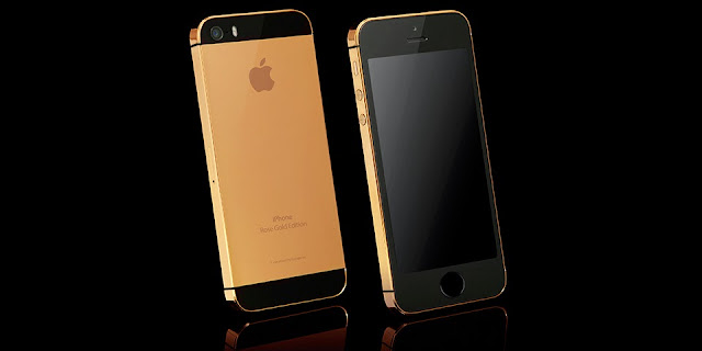 iPhone 5S Rose Gold Edition