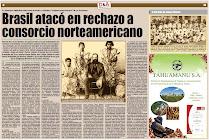 Influencia de EE.UU. en el conflicto bélico con Brasil
