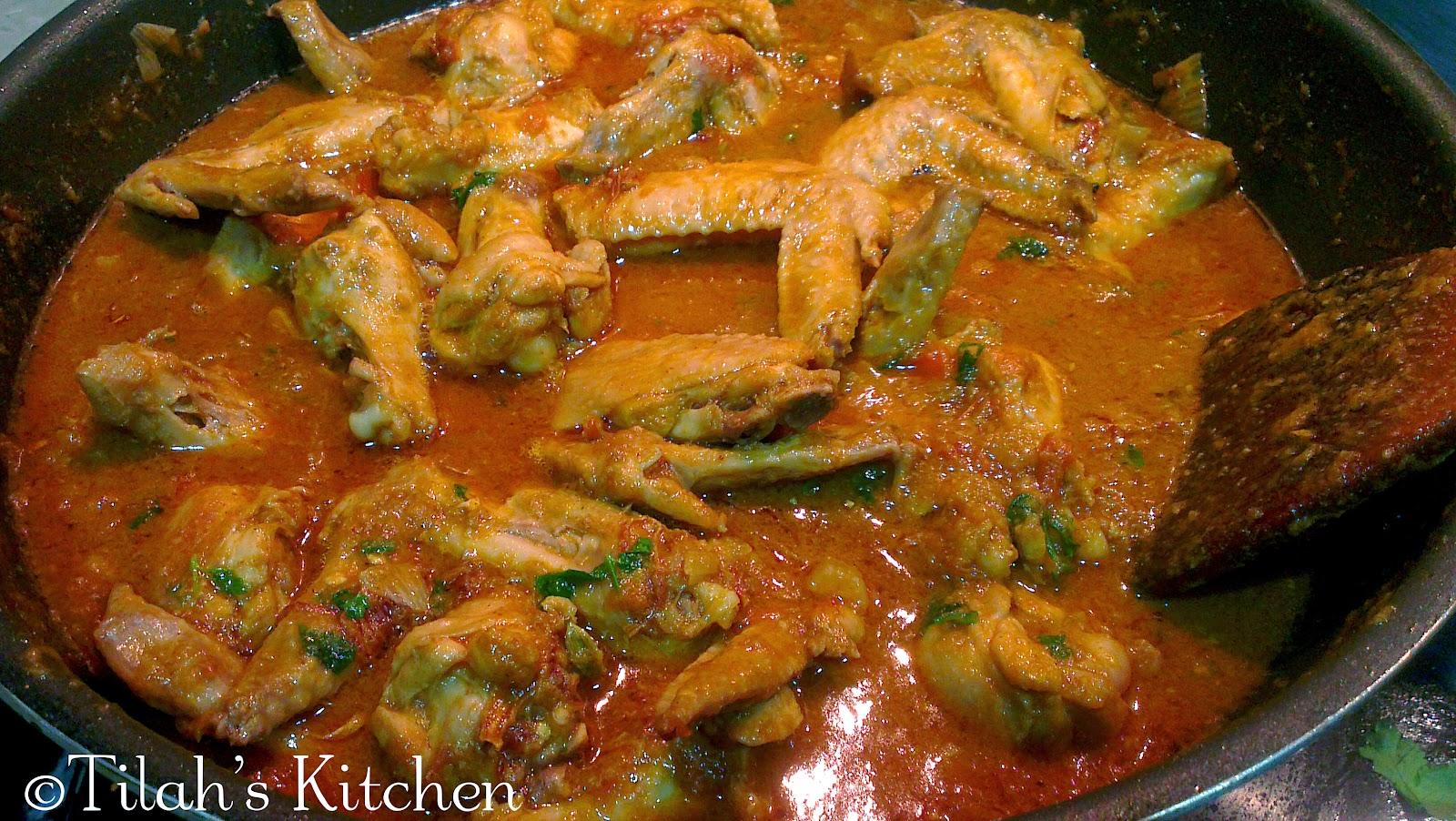Kashmiri Chicken (Ayam Kashmir)