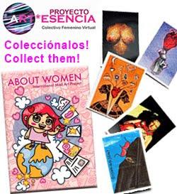Colectivo Femenino Virtual Proyecto Art-esencia/Female   Virtual Collective Art-essence Project