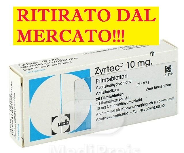 Prestare attenzione allo zyrtec il farmaco che cura - L allergia porta sonnolenza ...