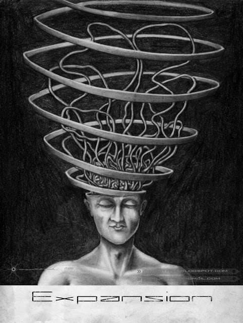brain expantion man human mind thinking anatomy spiritual art artist pencil drawing draw paper traditional surreal horror sadness sad pain agony love  death concept abhijithvb abhijith vb avb india kerala