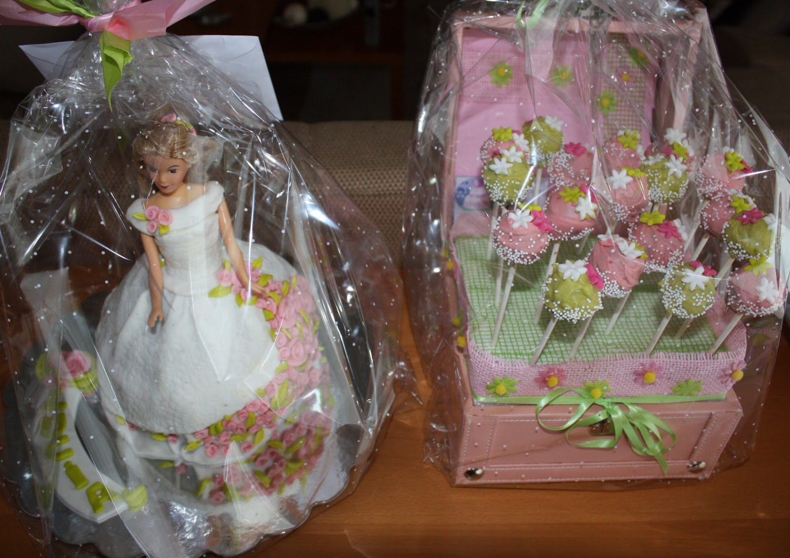 Blau cakes caja con cakepops un buen regalo - Un buen regalo para mi madre ...