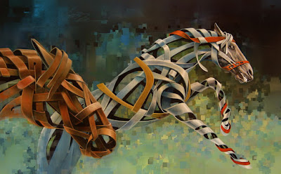 Cuadros Modernos De caballos