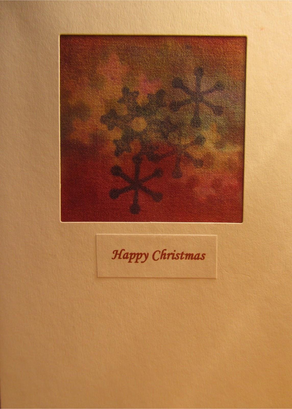 Charlton Stitcher: Making Textile Christmas Cards