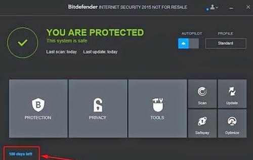 BitDefender Internet Security 2015 License Key